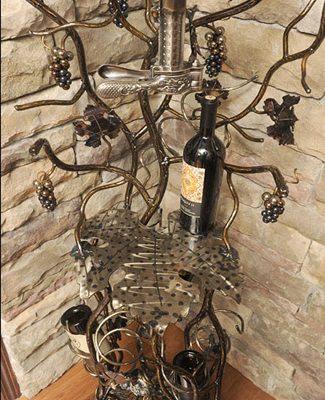 wine opener rack stand